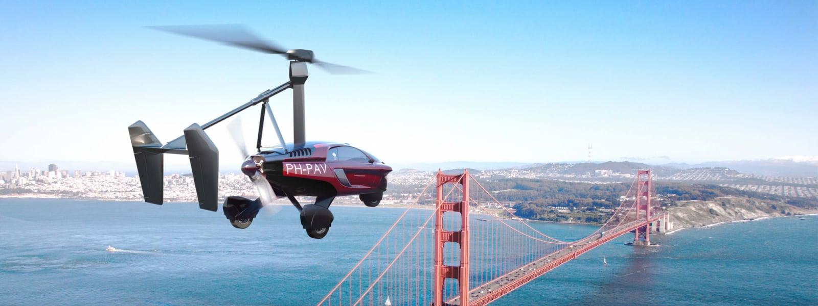 Pal V Flying Car City Fly