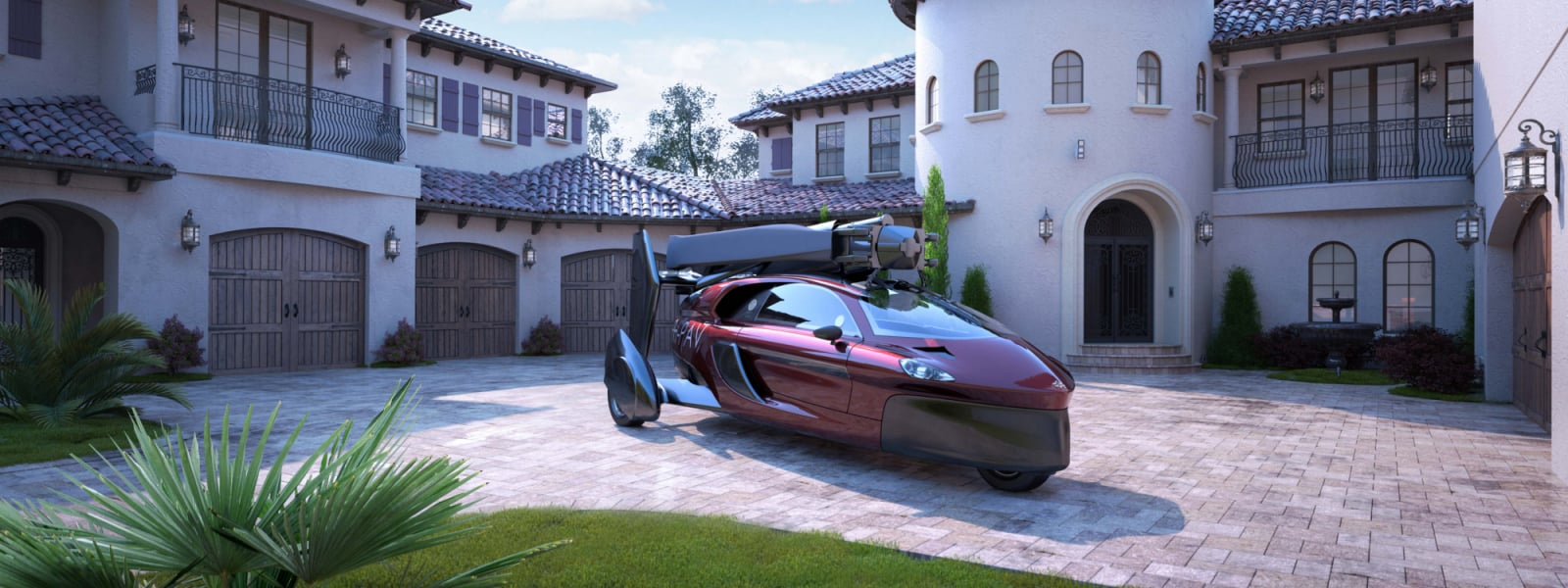 Pal V Flying Car Luxury House