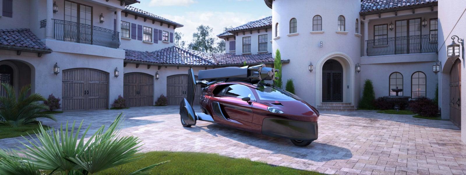 Pal V Flying Car Luxury House