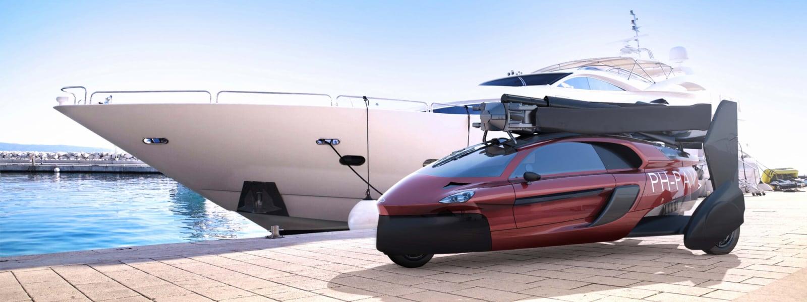 Pal V Flying Car Yacht